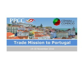 PPCC Trade Mission to Portugal, 14-18 November 2016