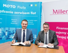 Millennium Leasing and MOTO Flota signed a cooperation agreement